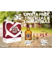 PACK WHISKY CHIVAS REGAL 12 AÑOS 70CL + REGALO 2 MINIATURAS