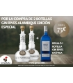 2 GIN RIVES ALAMBIQUE + RIVES EXOTICA 70 CL.